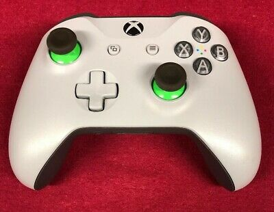 Microsoft WL3-00060 Xbox One Wireless Controller, Grey And Green - Preowned