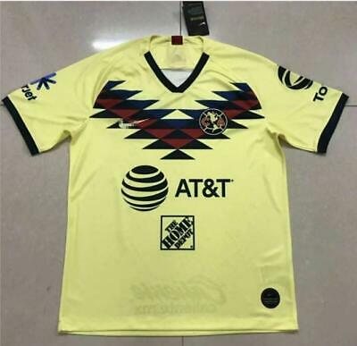 4bef02afb New 2019-2020 Club America Home Soccer Jersey short sleeve T-shirt Size