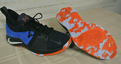 huge selection of 27d0b 4ea19 Nike PG2 Paul George Mens Size 13 Basketball Shoes Blue Home Craze AJ2039  400