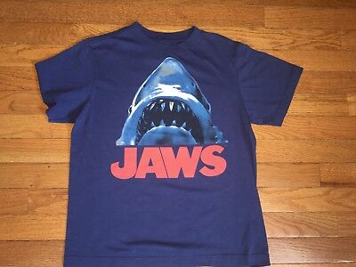 4c23b9fcf OLD NAVY BOYS Collectabilitees Classics Jaws T-Shirt Size Large ...