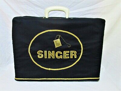Singer 201 Sewing Machine Carrying Case With Custom Cover!!!!!
