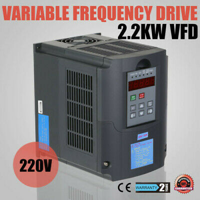 New 2.2Kw 3Hp Vfd Inverter Perfect Motor Closed-Loop Variable Frequency Drive