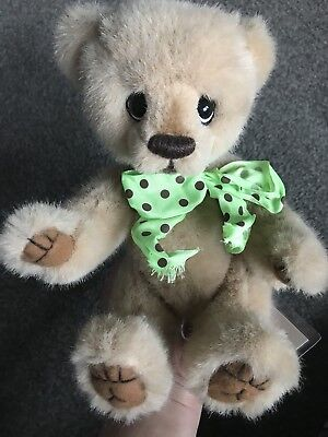 "Adorable Charbears artist 10"" Sweet Plush  bear by Charlene Draeger Mint W/ID"