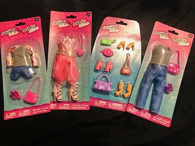 Lot Of Barbie Doll Clothes, Shoes & Accessories Mixed Lot All New In Package