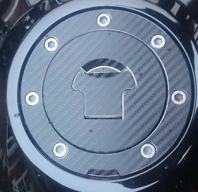 Honda XL 1000V Varadero Carbon Look Fuel Cap Pad Sticker Fits Multiple Models