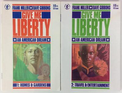 Give me Liberty #1 & #2 (Dark Horse 1990) 2 x issues
