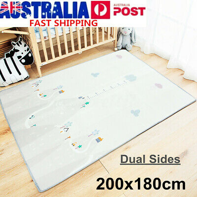 Waterproof Baby Carpet Game Mat Foam Puzzle Pad Child Crawling Blanket
