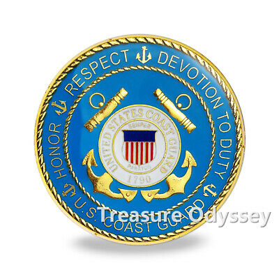 US Coast Guard Brat Dog Tag /& Chain Dependent Kids Family Challenge Coin USCG CG