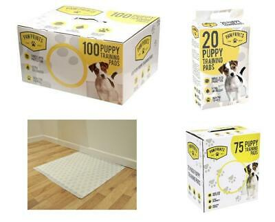 Pet Puppy Dog Pee Toilet House Training Super Absorbent Odourless Pads New
