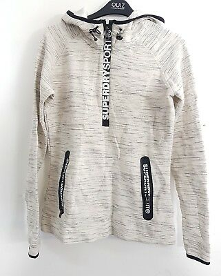▪ Superdry Womens Gym Tech Hoodie Size M