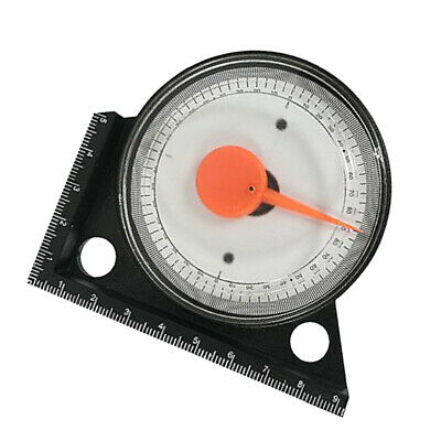Plastic Angle Locator Angle Finder Level Hand Tools Dial Gauge Magnetic