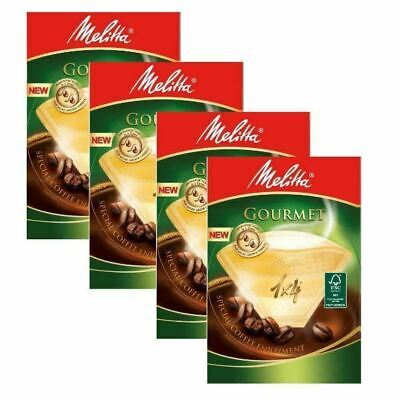 320 Melitta Gourmet 1 X 4 Filters For Coffee Brown Paper Filters - Mel6763165X4
