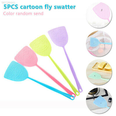 FA83 Swatters Fly Swatter Portable Cartoon Home Mosquito Durable Outdoor ECAD