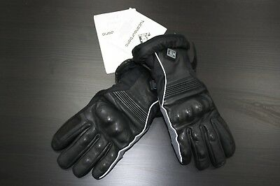 Tucano Urbano Skinsulator Mens Black Thermal Lined Winter Motorcycle Gloves XS
