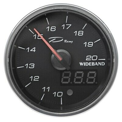 Air fuel electric gauge 60mm - wideband - LED backlights - Depo racing brand