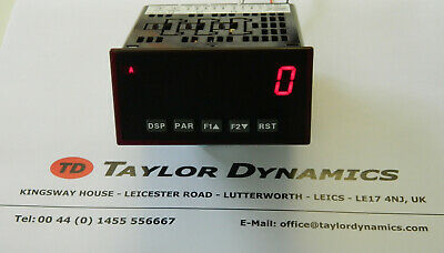 Red Lion Counter PAXR003B Rate Indicator