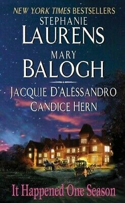 It Happened One Season - Good Book Balogh, Mary,Hern, Candice,D'Alessandro, Jacq
