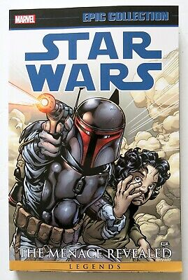 Star Wars Menace Revealed Vol. 1 Marvel Epic Collection Graphic Novel Comic Book