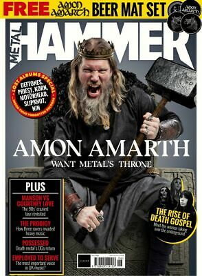 Metal Hammer Magazine + Cd June 2019 (Amon Amarth, Prodigy + Amon Beer Mats) New