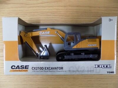 Case Construction Cx210D Die Cast Excavator Model / Free Uk Delivery Included
