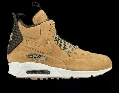 finest selection 4e56f 45094 Nike Air Max 90 Sneakerboot Winter Waterproof - Wheat 684714-700 Mens Size  13