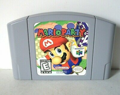 Mario Party 1 (Nintendo 64 N64) Clean Label Good Authentic Cartridge Multiplayer