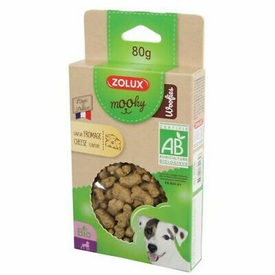 Friandise Mooky Bio Woofies Fromage 80G