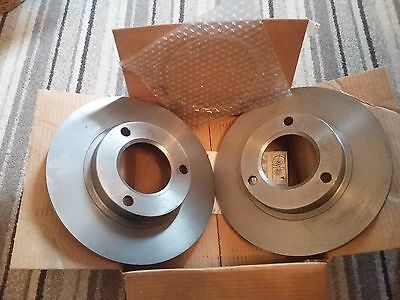 Brembo brake disc x 2, part number 08.3962.09, Brand new for Peugeot / Citroen