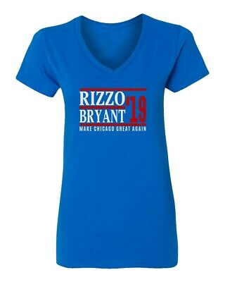 Kris Bryant Anthony Rizzo Chicago Cubs Baseball Fans 2019 Vneck T-shirt