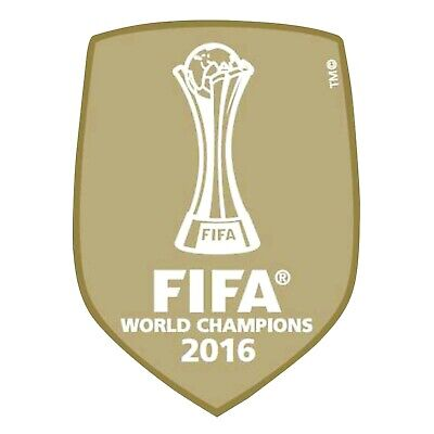 5c142ed18 REAL MADRID FIFA Club World Cup Champions 2016 badge patch - £1.00 ...