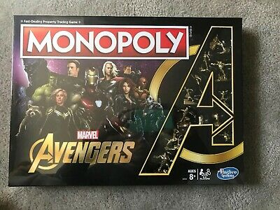 Marvel Avengers Monopoly Golden Endgame Special Edition New IN HAND