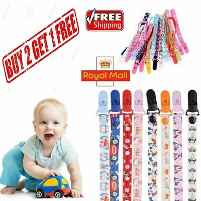 Dummy Clip Baby Soother Clips Teething Baby Teether Chain Holder Pacifier Strap