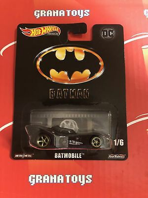 Batmobile 2019 Hot Wheels Retro Entertainment Batman Case L