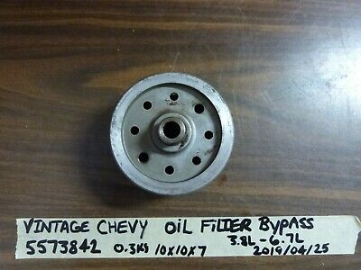 Vintage Chevy Gm 3.8 3.9 4.3 4.6 5.3 5.7 6.7 Litre Oil Filter Canister Bypass