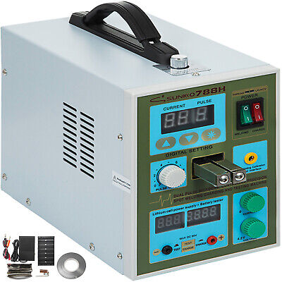 2 in 1 788H Spot welder 800A Dual Pulse Soldering Machine for Battery Charger