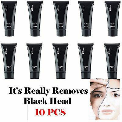 10x PILATEN blackhead remover,Deep Cleansing purifying peel acne black mud face