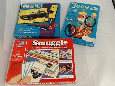 Job Lot Of Vintage Small Board Games Some Rare All Complete #469