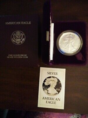 1986 American Silver Eagle 1 oz Proof Coin US Mint -Beautiful Coins 2 Available