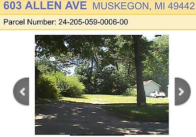 4 Vacant Lots in Muskegon MI ONE PRICE!