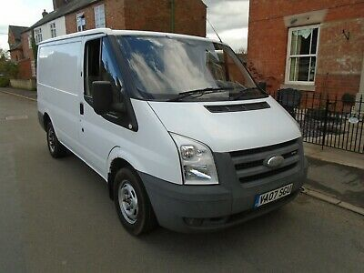 ford transit swb t260s fwd 85 psi 2007 with f/s/his/ in vgc
