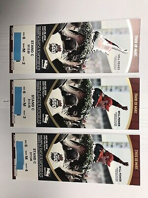 2019 Indy Indianapolis 500 tickets Stand C, Section 6!, 3 Seats