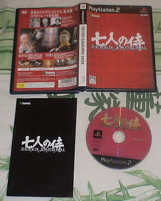 Seven Samurai 20Xx - Action Game - Ps2 Playstation 2 Import Japan