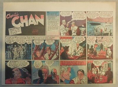 Charlie Chan by Alfred Andriola from 4/30/1939 Half Page Size!