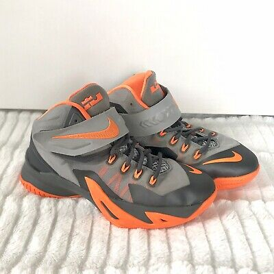 save off 7d422 abe6e NIKE Zoom Lebron James Soliders VIII 653645 Boys Size 4 4Y Basketball  Sneakers