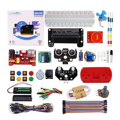 Micro:Bit Starter Learning Kit For Kids Bbc Micro-Bit Board Graphical Progr P9L9