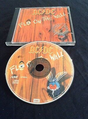 Ac/dc Fly On The Wall  Early Picture Cd Albert Productions 4770922  Australia
