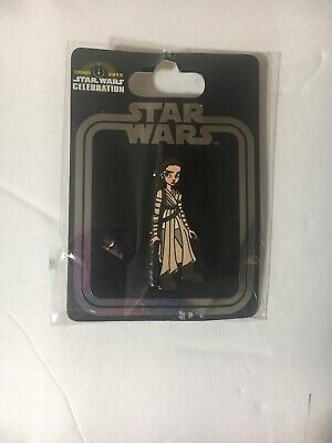 Rey Exclusive trading Pin Star Wars Celebration Chicago 2019 Disney official