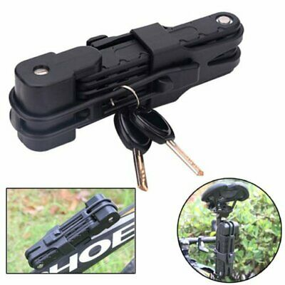 Security Bike MTB Bicycle Anti-Theft Alloy Steel Combination Folding Lock