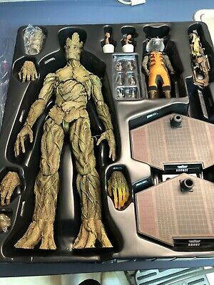 Hot Toys Gardiens de la galaxie Rocket & Groot MMS254 d'occasion