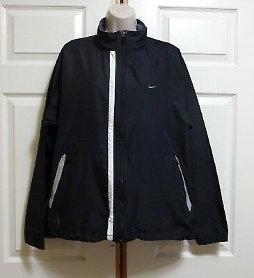Mens Or Womens Nike Clima Fit Poly Brite Flashing/Solid Red Green  Lights Jacket